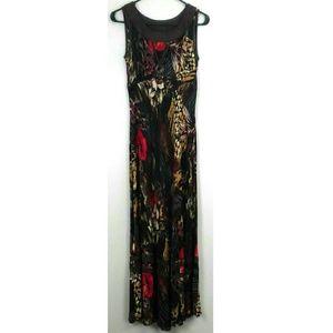 Carole Little Maxi Dress Size 4